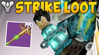 Destiny: all new strike loot items! rise of iron strike specific rewards & gameplay