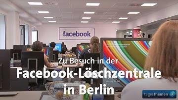 Facebook-Löschzentrale in Berlin