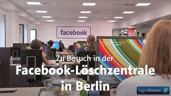 Facebook-Löschzentrale in Berlin