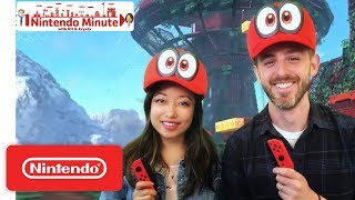 Super Mario Odyssey Co-op Mode – Nintendo Minute