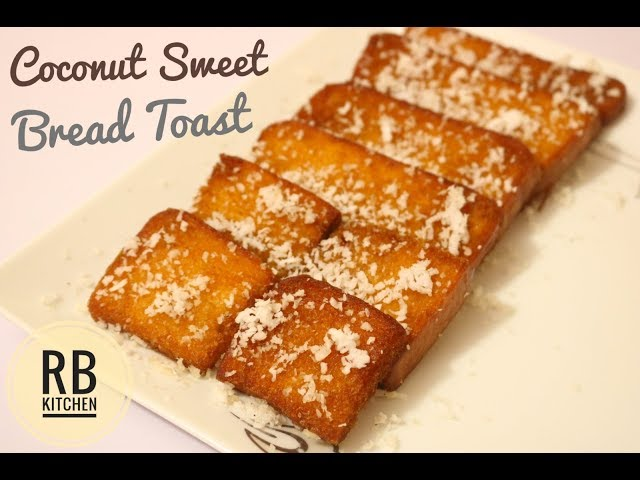 ??????? ??????? ????? ??????? ??????? ?????? / Coconut Bread Toast / Bread Toast Bangla Recipe