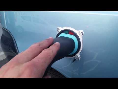 REVA G-WIZ: Lithium Ion Conversion Type 2 Charger Lead Installation.