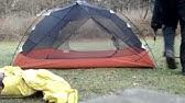Msr Carbon Reflex 3 3 Season Backpacking Tent Youtube
