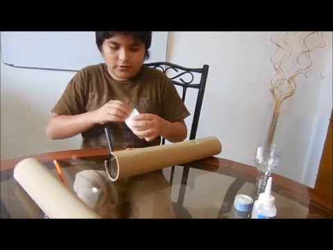 Como hacer un telescopio casero en espa ol youtube for Como hacer un criadero de peces casero