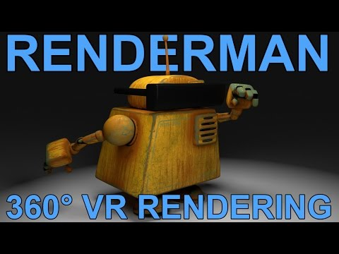 Renderman 21 Omnidirectional Camera Tutorial