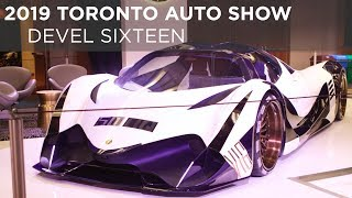 2019 Toronto Auto Show | Devel Sixteen | Driving.ca