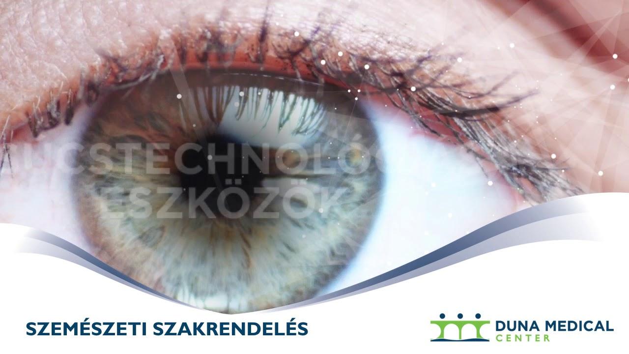 szemészeti videó