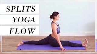 Intermediate Vinyasa Yoga Class - Hamstrings Flexibility & Improve Splits