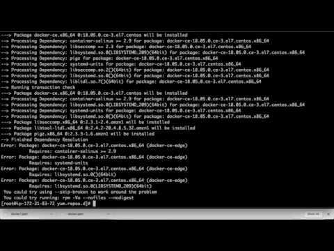 Installing Docker on EC2 Instance (AWS)