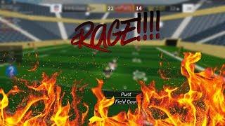 [ROBLOX] RAGE!!!! (Legendary Football Funny Moments #5)