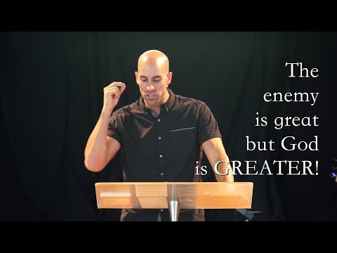The enemy is great but God is GREATER!