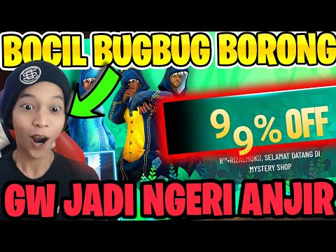 BOCIL BUGBUG BORONG SEMUA MYSTERY SHOP! ANJIR ANJIR ANJIR