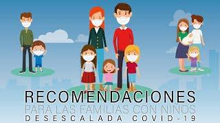COVID-19 y niños: cómo actuar