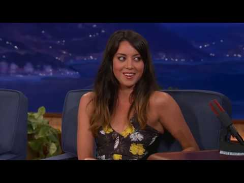 Aubrey Plaza - Best Moments In Talk Shows