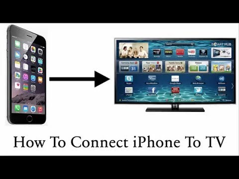 COMMENT CONNECTER SON IPHONE SUR LA TELE