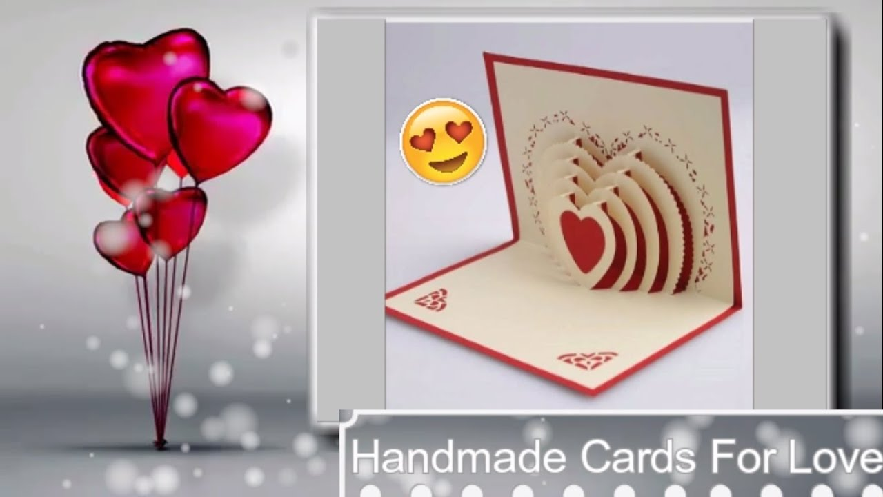 Ideas for decorating greeting cards elitflat handmade cards ideas handmade greeting card for love m4hsunfo