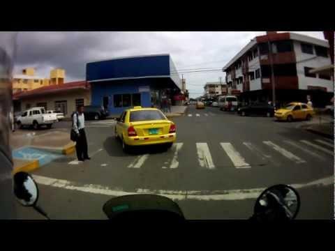 Tour of my city David, Panama