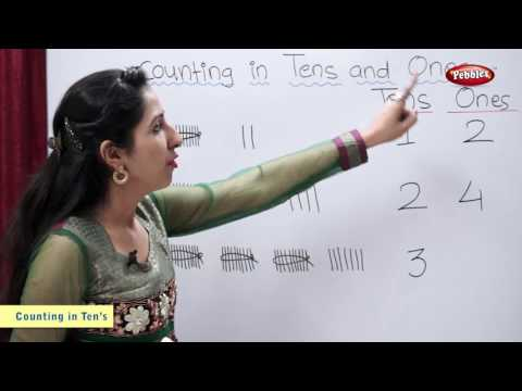 Number Counting | Counting in Tens and Ones | Maths For Class 2 | Maths Basics For CBSE Children