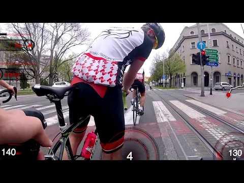 Bike ride through Zagreb 2018