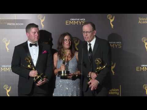 "Emmy winner Jonathan Murray (""Born This Way"") on Mary-Ellis Bunim - 2016 Creative Arts Emmys"