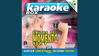 No Te Pido Flores (Karaoke Version)
