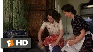 Mommie Dearest (1/9) Movie CLIP - Mad At Dirt (1981) HD