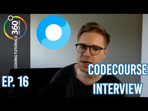 Codecourse Interview: Behind the Code Episode 16