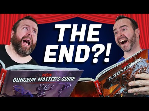 THE END?! How to End Campaigns, Sessions, & Characters   5e Dungeons & Dragons   Web DM