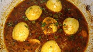 स्पेशल egg करी रेसिपी SPECIAL EGG CURRY RECIPE! अंडे की सब्जी बनाएं CHISH BEAUTY! COOK WITH CHISH