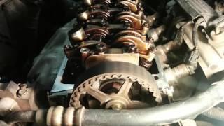 видео Регулировка тепловых зазоров клапанов