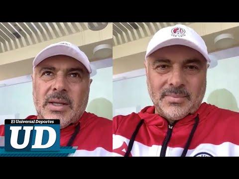Conferencia Guillermo Vázquez, DT Atlético San Luis