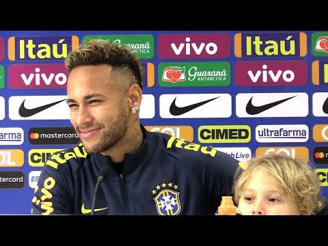 Neymar Full Pre-Match Press Conference - Brazil V Uruguay - International Friendly