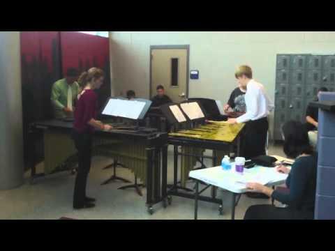 Metric Lips - Krum High School Percussion