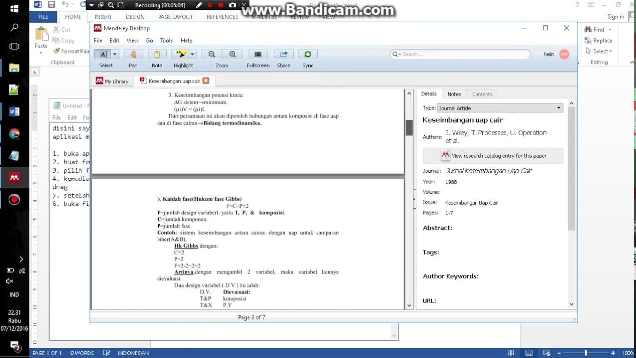 Cara Mudah Membuat Daftar Pustaka Menggunakan Aplikasi Mendeley
