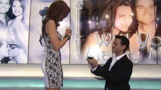 Best Surprise Proposal - Weatherman proposes to Morning News Anchor