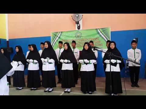 Lomba Koor Hymne dan Mars Madrasah Oleh Mts YPPU Sapak Hulu