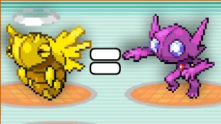 Pokemon Ruby but all opponents have wonder guard
