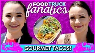 GOURMET TACO CHALLENGE?! Food Truck Fanatics w/ Merrell Twins