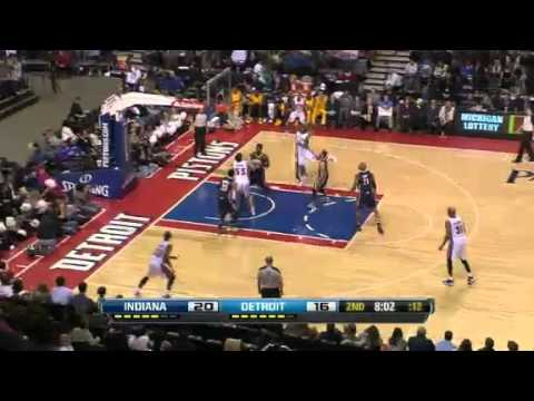 Indiana Pacers vs Detroit Pistons - February 23, 2013