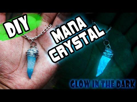 DIY MANA CRYSTAL!! GLOW IN THE DARK // BRILLA EN LA OSCURIDAD