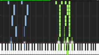 Skyrim Main Theme The Elder Scrolls 5 Skyrim Piano Tutorial Synthesia Kyle Landry
