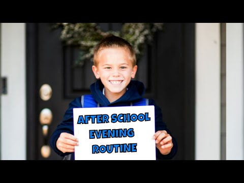 After School | Evening Routine