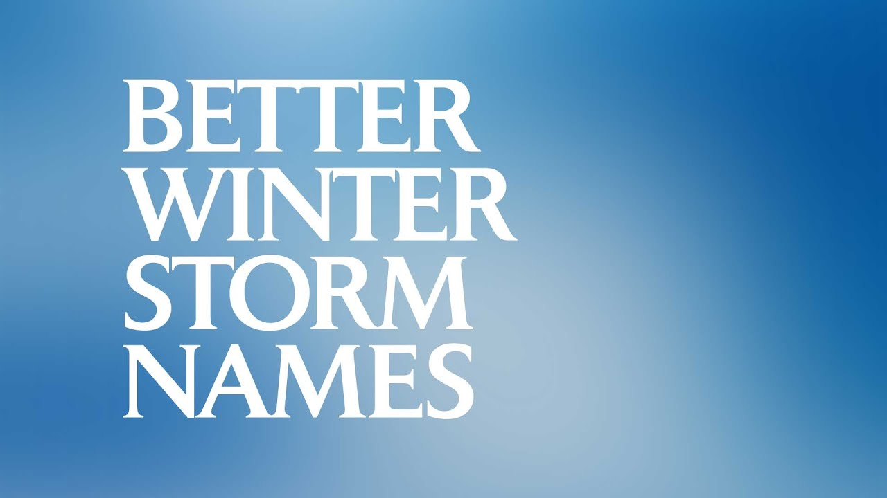 winter storm names 2014 15 youtube. Black Bedroom Furniture Sets. Home Design Ideas