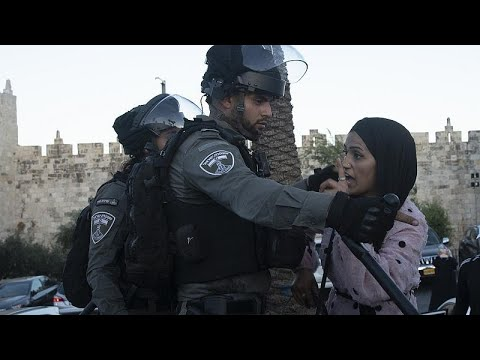 مواجهات بين الشرطة الإسرائيلية وفلسطينيين بعد إطلاق يهود قوميين شعارات مناوئة للعرب والمسلمين…  - 16:54-2021 / 6 / 18