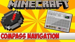 Minecraft Bukkit Plugin - Compass Navigation - Tutorial