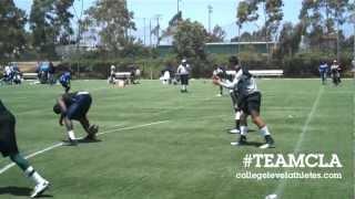 "2012 LA Watts Summer Games 7on7 Champions - Inglewood HS w/ Football Chair Jose ""Coco"" Jarin"