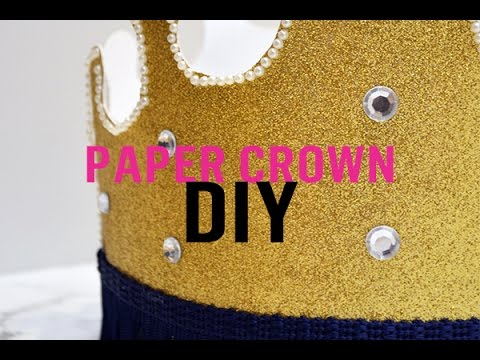 Treat Mum Like a Queen: DIY Paper Crown for Mum | Video 1