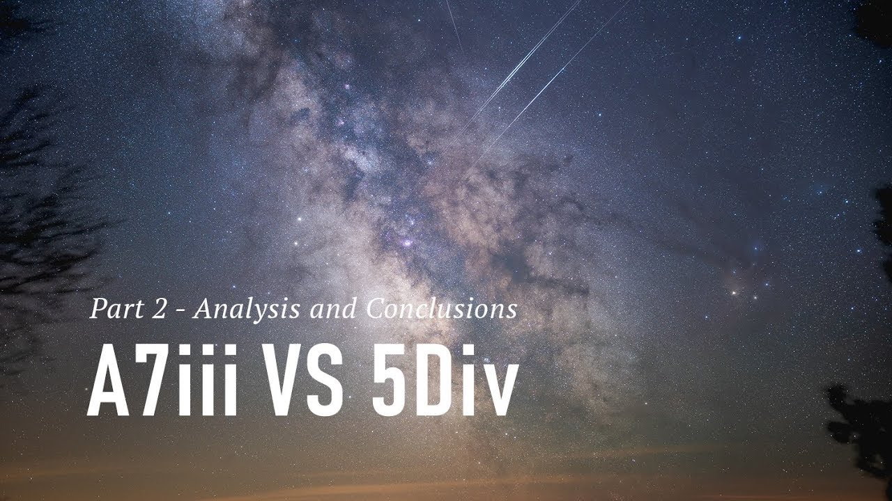 Comparing the Sony a7 III and Canon 5D Mark IV for
