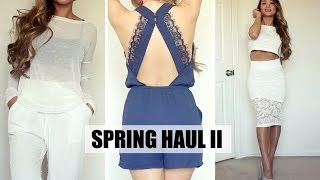 Spring Haul Lookbook: Forever 21, H&M, Dynamite | HAUSOFCOLOR Thumbnail