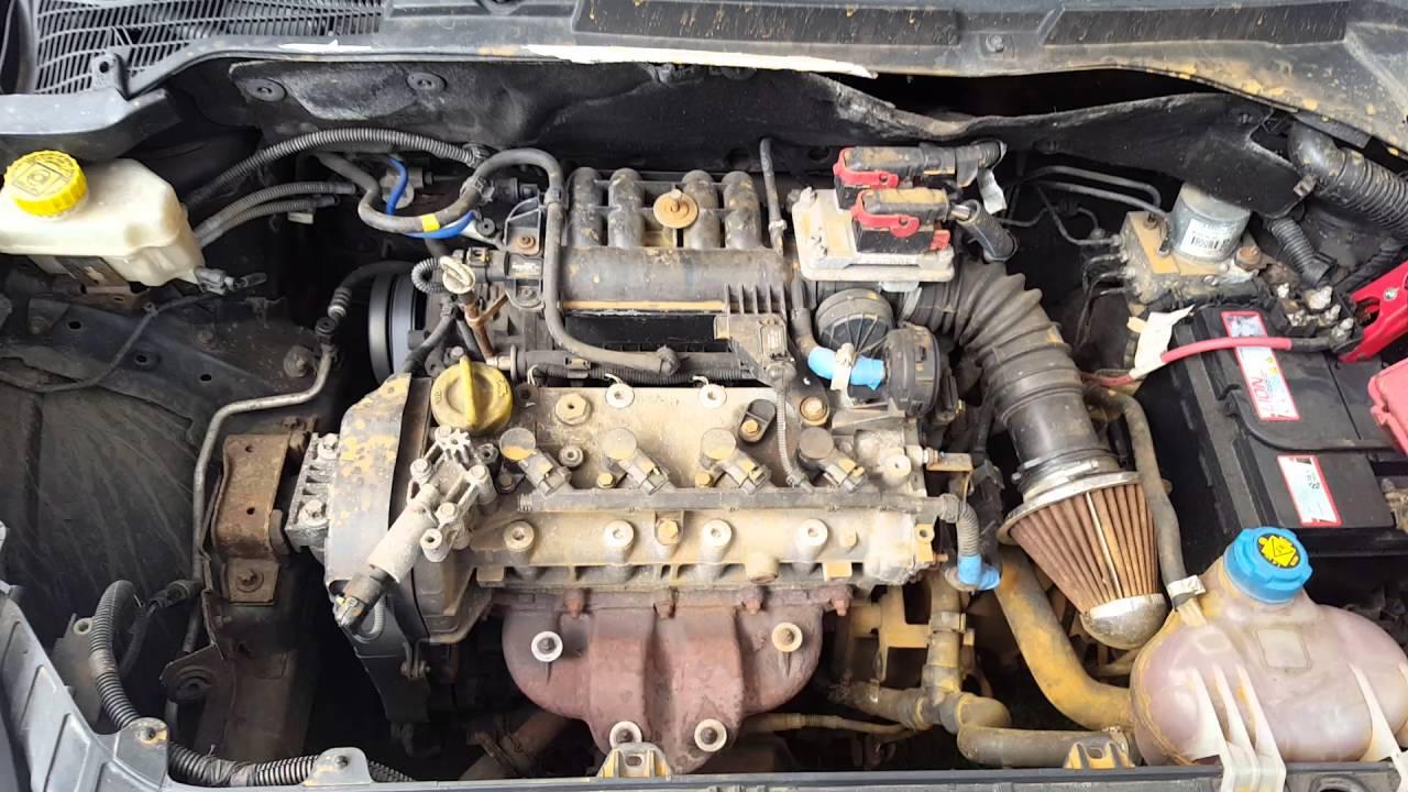 Контрактный двигатель Fiat (Фиат) 1.4 843A1.000 | Где купить? | Тест мотора